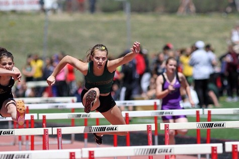 Sophomore Taylor Finn is a year-round athlete, participating in cross country in the fall and track in the spring.