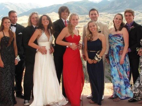 Left to right: Kaity Burr (11), Drew Faloon (12), Koan French (10), Georgia Sinclair (12), Sam Weiss (11), Riley Witham (12), Kristi Longfield (12), Chase Megyeri (12), Susie Smith (12), and Nik Lyles (11).